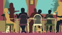 Deberías hablar de política en la cena de Acción de Gracias. Te explicamos por qué y cómo