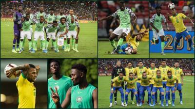 Brasil empata ante Nigeria en partido amistoso