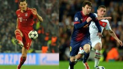 Doble semifinal de españoles contra alemanes en la Liga de Campeones