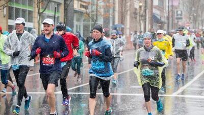 Presencia masiva de campeones y lluvia serán protagonistas en el Maratón de Boston
