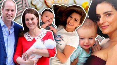 Fotos: los bebés de los famosos que nacieron en 2018