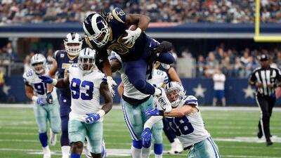 Dallas se confió y cayó 35-30 ante unos sorprendentes Rams