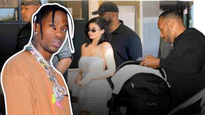 Travis Scott toma medidas extremas de seguridad para Kylie Jenner y su hija Stormi
