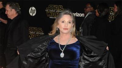 Carrie Fisher, la eterna princesa Leia, fallece a los 60 años