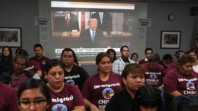Immigrant groups offer grim response to Trump's State of the Union speech