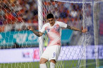 En fotos: Chile, con los jugadores de la Liga MX, empató sin goles ante Corea del Sur