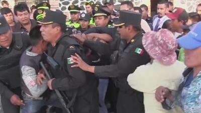 Casi muere apaleado por una multitud que se lanzó sobre él por tratar de robar una yegua en México