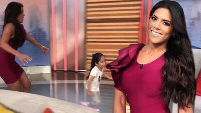 Lo que no viste en la tele: Francisca se divirtió como niña con Giulietta en la casa de Despierta América