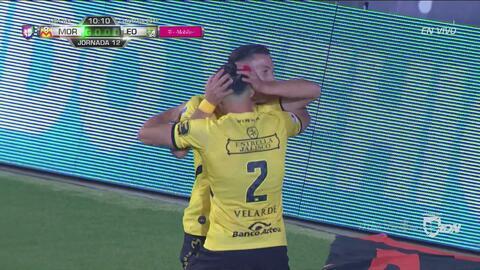 ¡Chispazo del Morelia! Del 'Chispa' para Ferreira el 2-0 de Monarcas