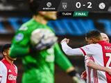 Ajax tiene paso firme como líder en Holanda y vence al Heracles