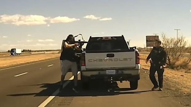 Imágenes fuertes: cámara de un policía graba el momento en el que un traficante de droga mata a disparos a un agente