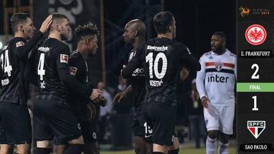 Con Marco Fabián y Salcedo en cancha, Eintracht debutó con victoria en la Florida Cup