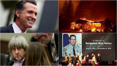 El 2018, un año marcado por desastres naturales, violencia armada y elecciones en California