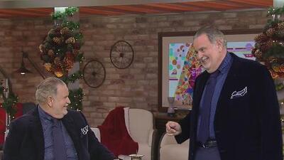 A Raúl de Molina lo visitó su 'gemelo' en pleno show