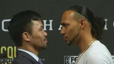 Deportes al día: Keith Thurman prometió retirar del boxeo a Manny Pacquiao y Neymar lanza su propia fragancia