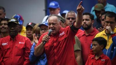"""""""¿Cuál es el empeño contra nuestro país?"""": Diosdado Cabello sobre embargo a activos del gobierno venezolano en EEUU"""