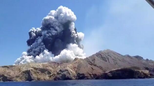 La erupción de un volcán en Nueva Zelanda cobró la vida de al menos cinco personas