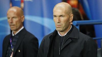 """Zidane puntualizó en """"la intensidad"""" tras la derrota 3-0 de Real Madrid ante PSG"""