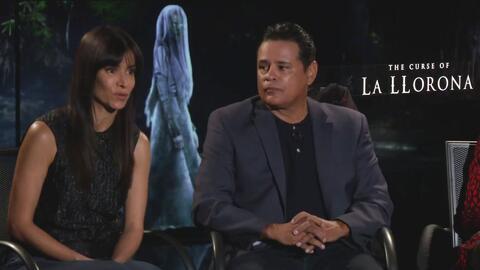 Con talento latino, el elenco de 'The Curse of La Llorona' habla de las cosas extrañas que vivieron en el set