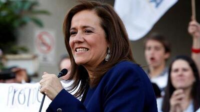 """""""Dinero a cambio de nada"""": Margarita Zavala dice que donaciones de su esposo no influirían su presidencia"""