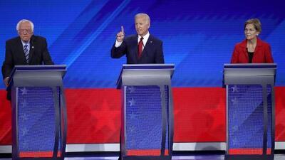 """""""En este país también se habla español"""": la frase que marcó el debate donde hubo frente común contra Trump"""