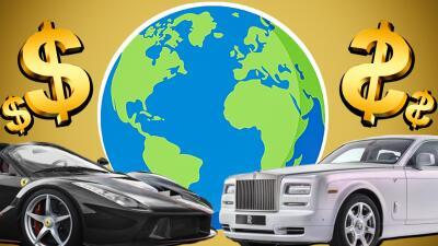 Los carros más caros del mundo