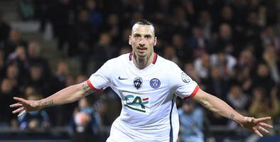 Ibrahimovic mete al PSG a la final de la Copa de Francia