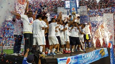 Alianza se corona campeón de fútbol salvadoreño al vencer a FAS