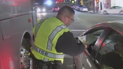 Policía de California realiza operativo especial para el Super Bowl