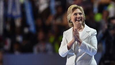 Discurso completo de aceptación de Hillary Clinton