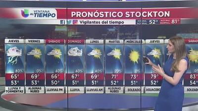 Continuarán las lluvias y tormentas en diversas zonas de California