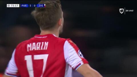 ¡GOOOL! Marko Marin anota para Crvena Zvezda