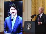 Biden inicia encuentros bilaterales con una reunión virtual con Justin Trudeau