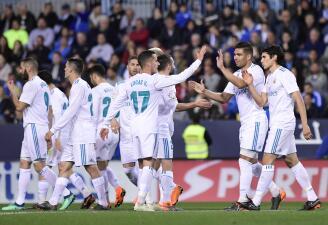 En fotos: Real Madrid ganó de visita 1-2 a Málaga y se sacude con miras a la Champions