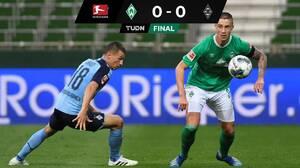 Werder no pudo en casa y cedió empate ante el Mönchengladbach