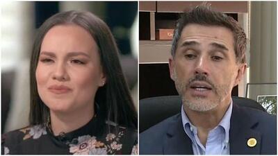"""Sergio Mayer sale en defensa de la hija menor de José José al decir que """"no es correcto que la pongan como la mala"""""""