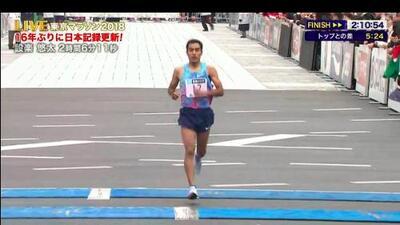 Mexicano Juan Luis Barrios llegó 21 en Maratón de Tokio en homenaje a su entrenador
