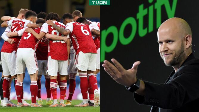 ¡Propietario de Spotify quiso comprar al Arsenal!