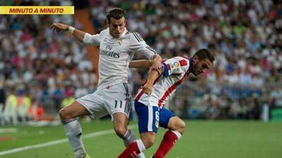 Real Madrid vs. Atlético de Madrid en la Supercopa de España, juego de ida