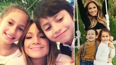 JLo celebró los 10 años de sus hijos Emme y Max con este emotivo video