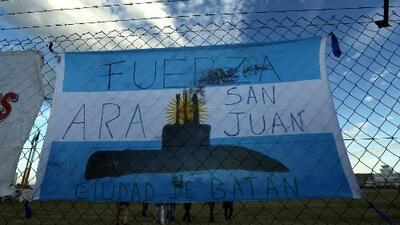 El último mensaje enviado por el submarino argentino ARA San Juan con 44 personas abordo