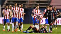 Hubo tensión en el vestidor de Chivas tras caer ante San Luis