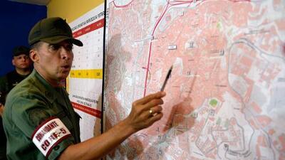 Oficiales sancionados por EEUU pertenecen al círculo militar de Maduro