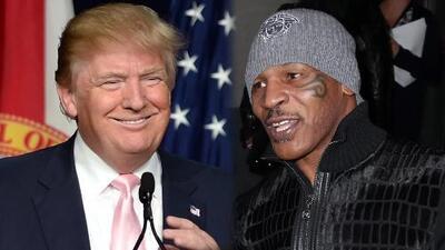 Mike Tyson piensa que Donald Trump debería ser Presidente