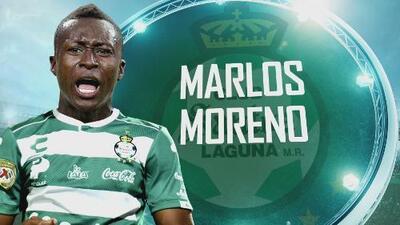 El nivel competitivo de la Liga MX llamó la atención de Marlos Moreno para elegir a Santos Laguna