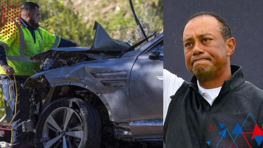 """""""Ni se acordaba de que estaba manejando"""": Revelan nuevos detalles del accidente de Tiger Woods"""