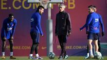 """Quique Setién habló sobre Messi: """"Leo es difícil de gestionar"""""""