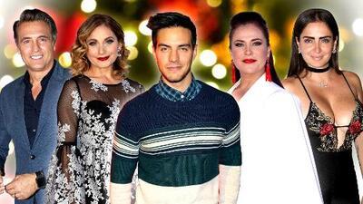¿Cómo celebran Navidad los famosos?: Siete celebridades disfrutan así la llegada de Santa Claus