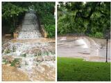 Autoridades de Austin cierran temporalmente la piscina Barton Springs debido a inundaciones