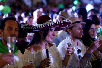 """""""¡Sí se pudo!"""": el estado mexicano de Jalisco logra récord Guinness de la cata de tequila más grande del mundo (fotos)"""